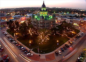 Denton Texas Courthouse Photo