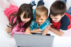 Children In Computer