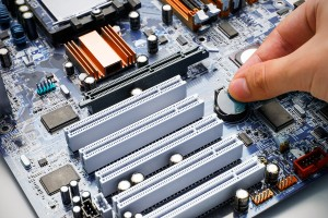 Hand Install Battery To Pc Motherboard